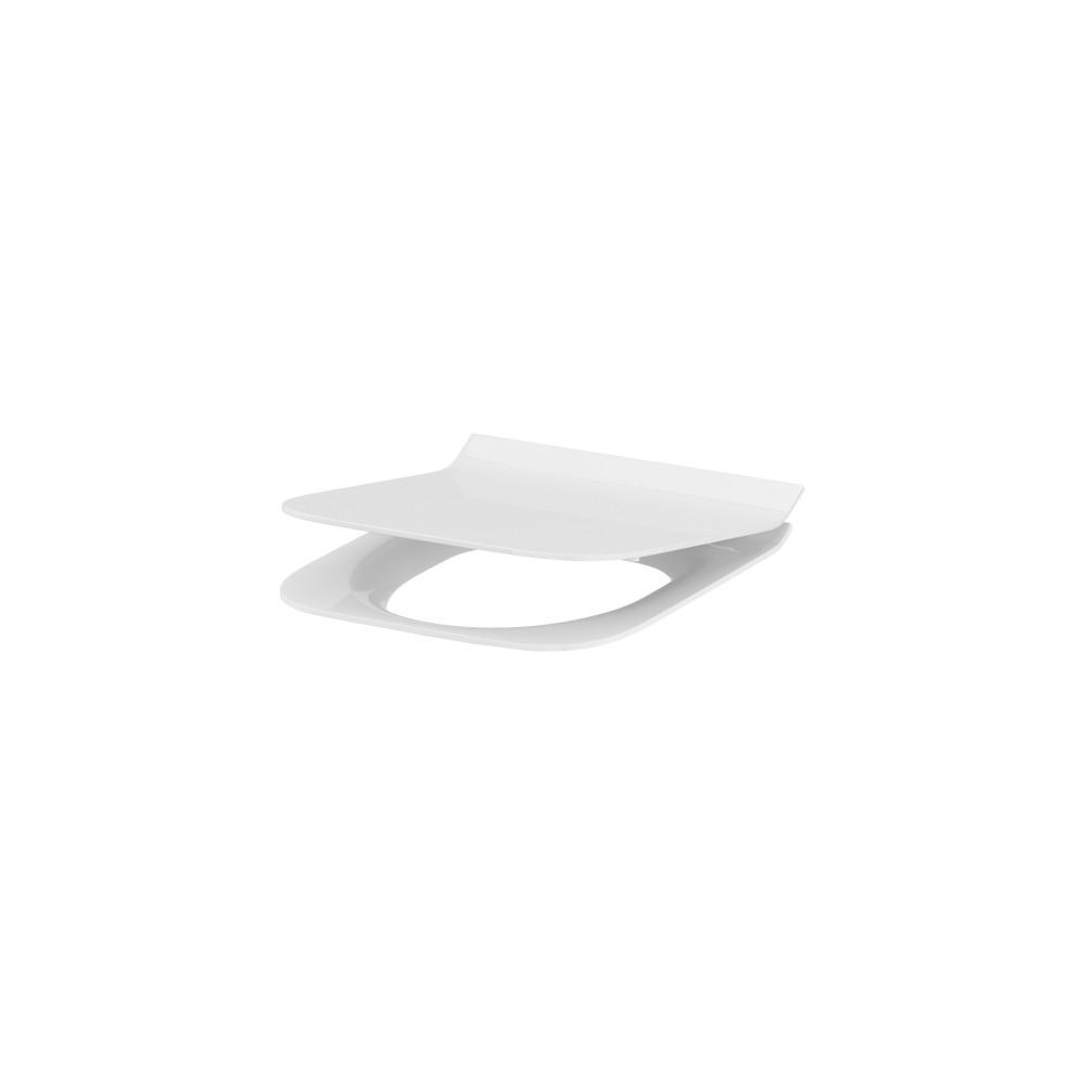 Capac wc rectangular Cersanit Crea, slim