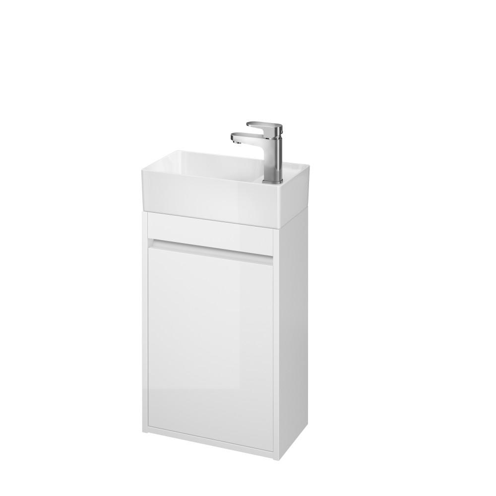Mobilier pentru lavoar Cersanit Crea 40 cm alb