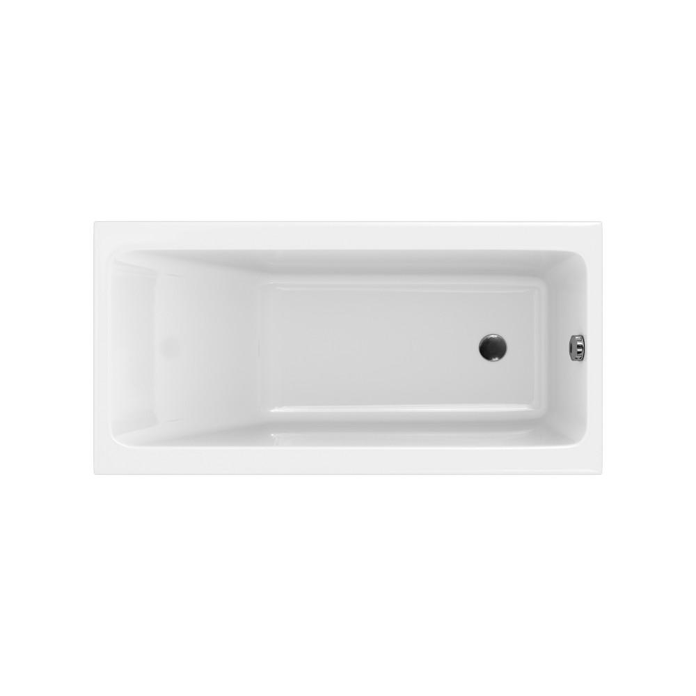 Cada rectangulara Cersanit Crea 150x75 cm, acril