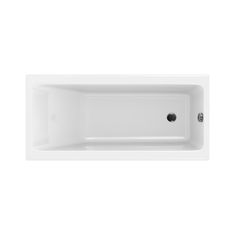Cada rectangulara Cersanit Crea 160x75 cm, acril