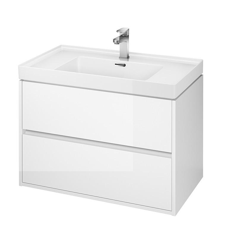 Mobilier pentru lavoar Cersanit Crea, 80 cm, alb