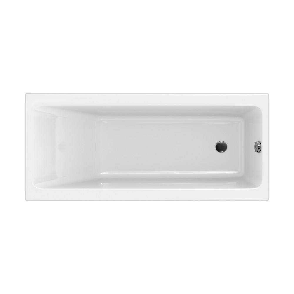 Cada rectangulara Cersanit Crea 170x75 cm, acril