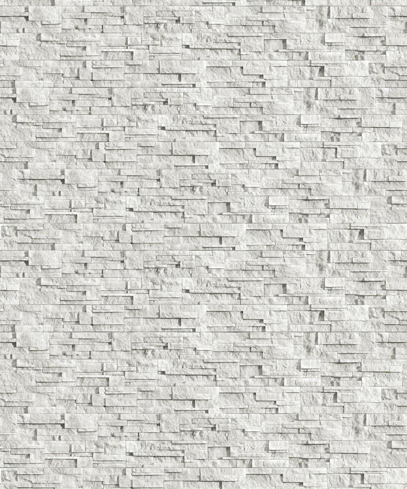 Piatra decorativa Incana Alaska 37,5cm x 10cm x 2,5cm, bianco