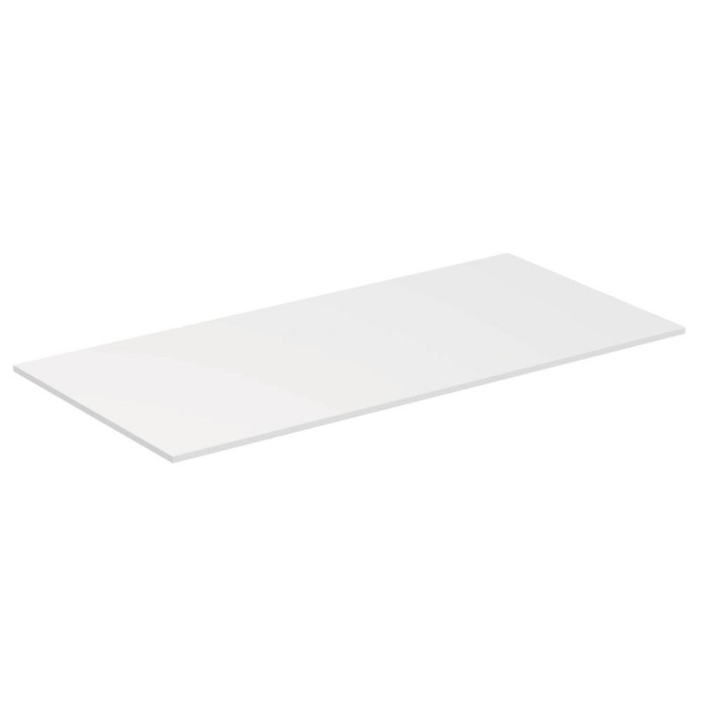 Blat pentru lavoar Ideal Standard Adapto 105 cm, alb lucios