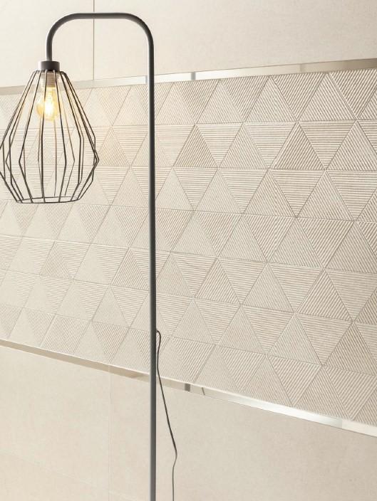 Mozaic Tubadzin Clarity, 32.8x25.8 cm, beige