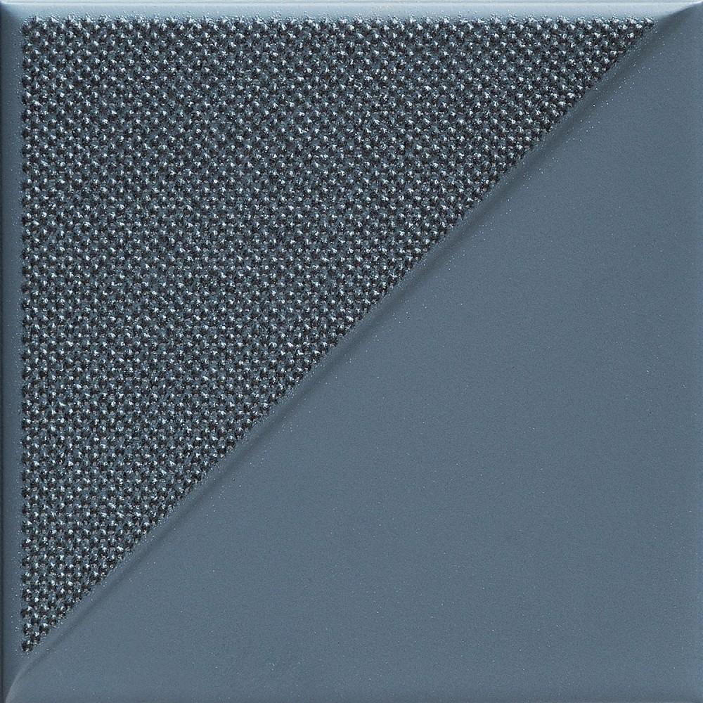 Decor Tubadzin Reflection  2 14,8x14,8 cm, navy
