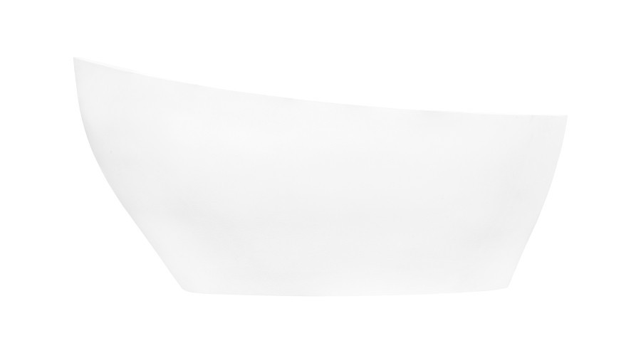 Cada freestanding Besco Keya,165x70 cm, alb