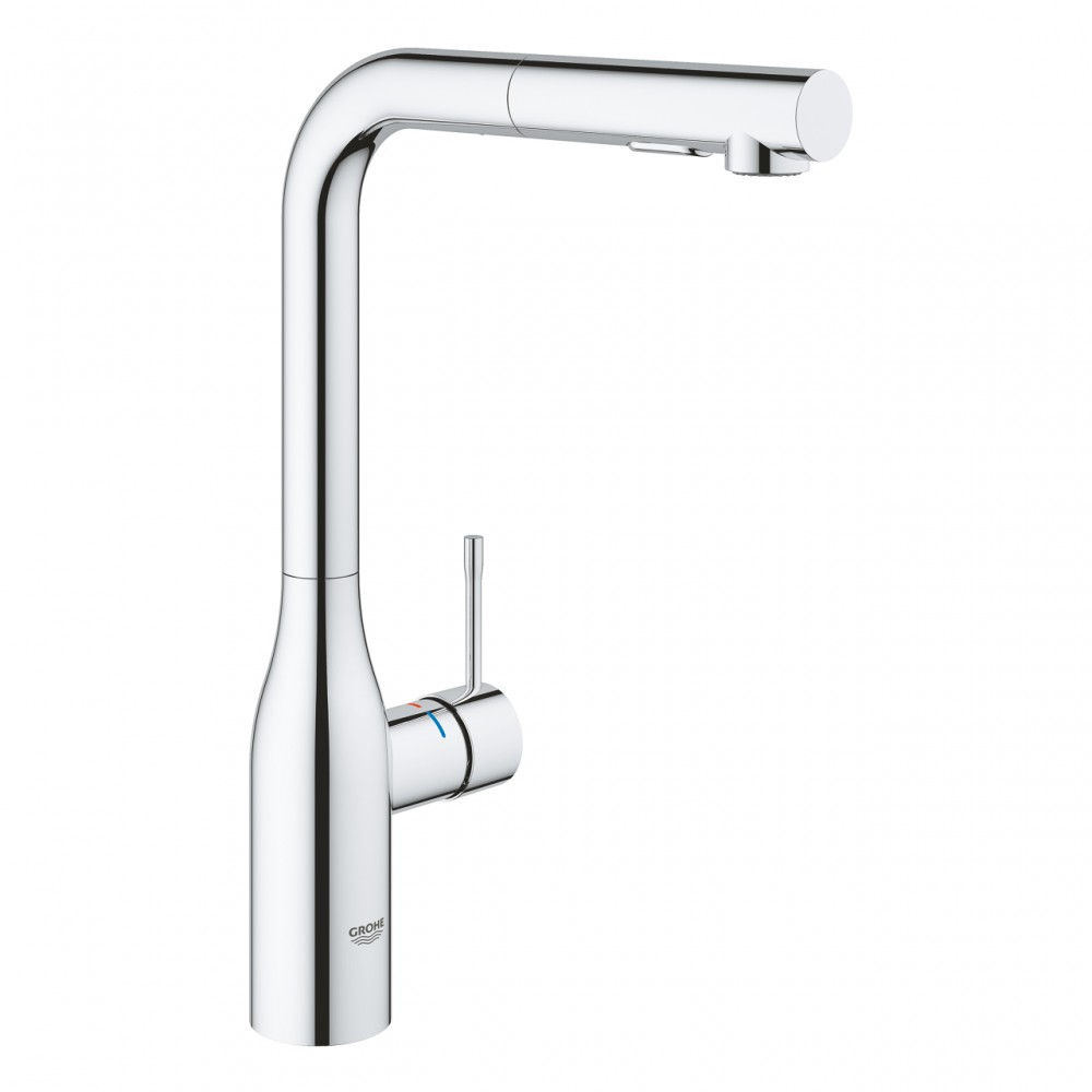 Baterie bucatarie Grohe Essence New cu dus extractabil