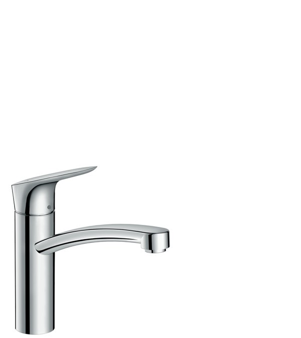 Baterie bucatarie Hansgrohe Logis 160, crom