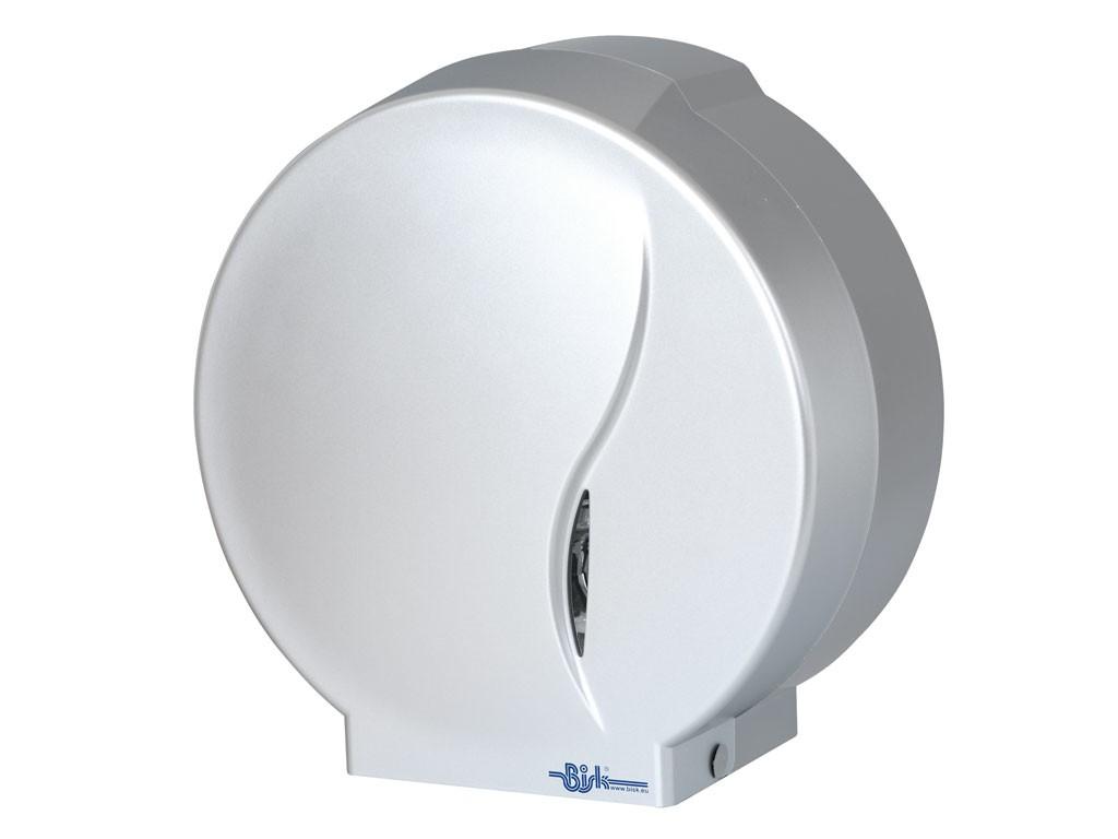 Dispenser hartie Jumbo-P2 19 cm SI 23 mm silver mat