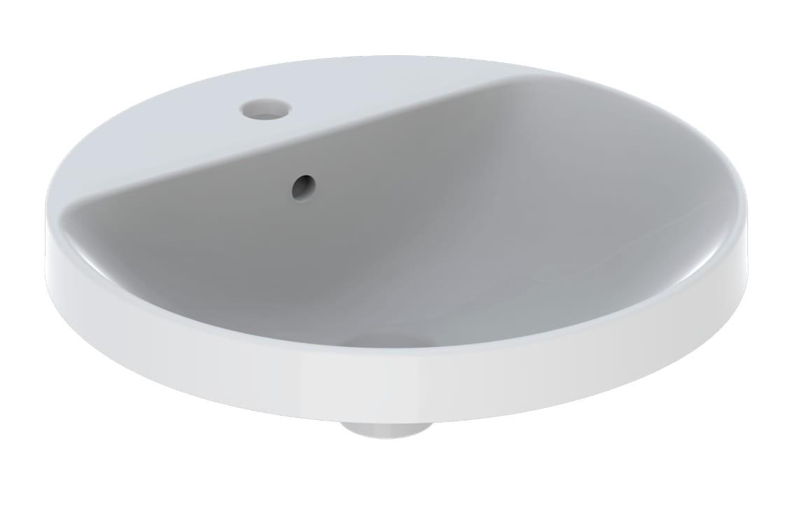 Lavoar incorporat Geberit VariForm, diam. 48 cm