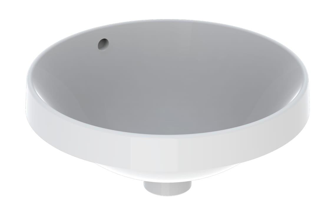 Lavoar incorporat Geberit VariForm, diam. 40 cm