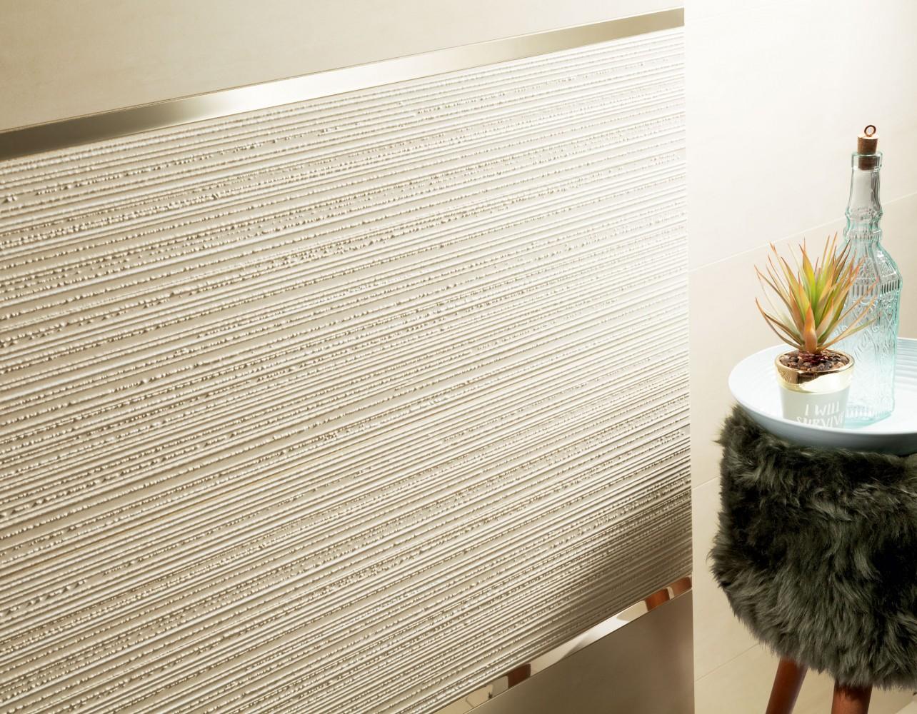 Decor Tubadzin  Horizon, 32.8x89.8 cm,  ivoriu