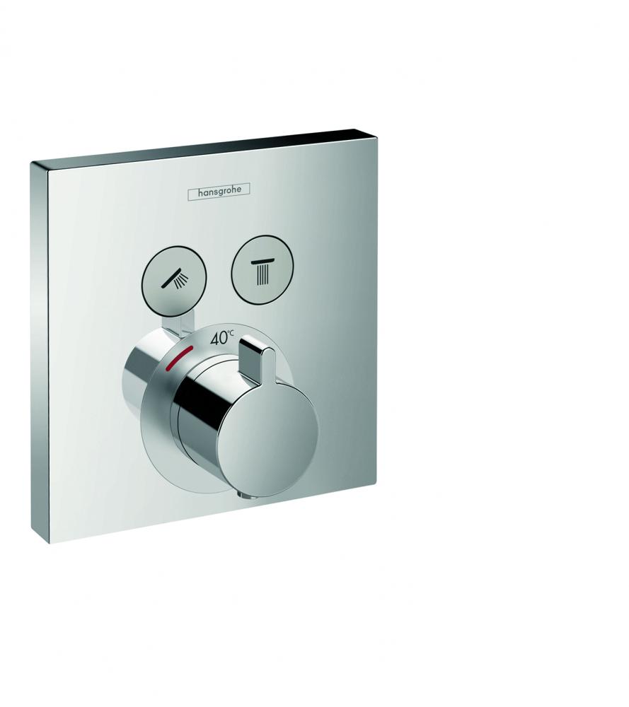 Baterie dus termostatata Hansgrohe Select incastrata