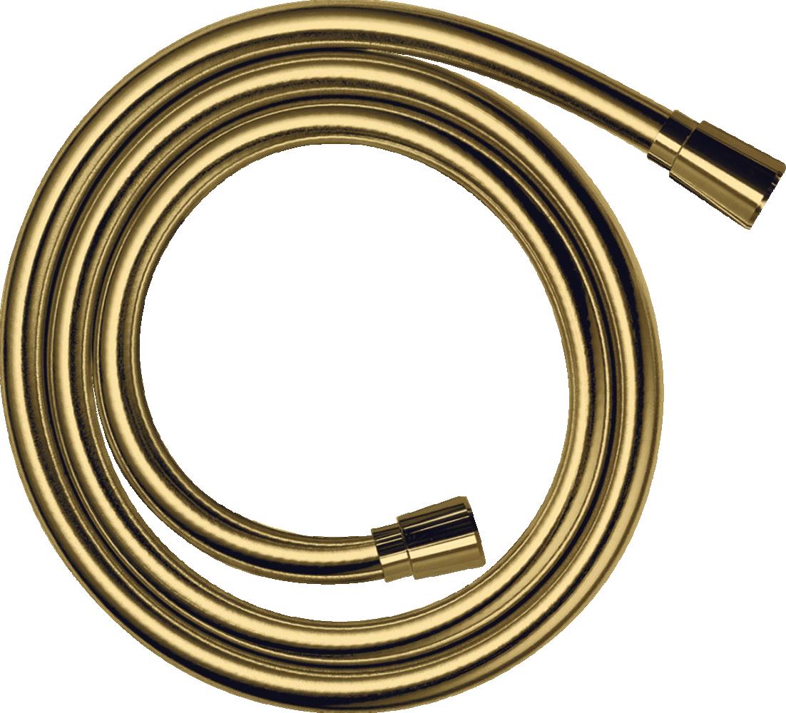 Furtun dus Isiflex 160 cm auriu lucios