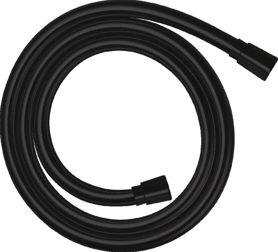 Furtun dus Isiflex 160 cm negru mat