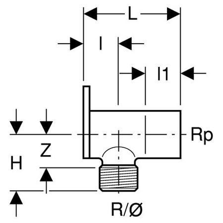 Conector baterie, diametru 15 mm