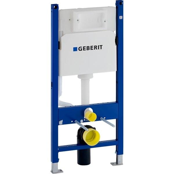 Sistem instalare cu rezervor Geberit DuoFix Delta, pt. vas wc suspendat, adancime 12 cm