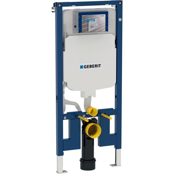 Sistem instalare cu rezervor Geberit Duofix Sigma, pt. vas wc suspendat, adancime 8 cm