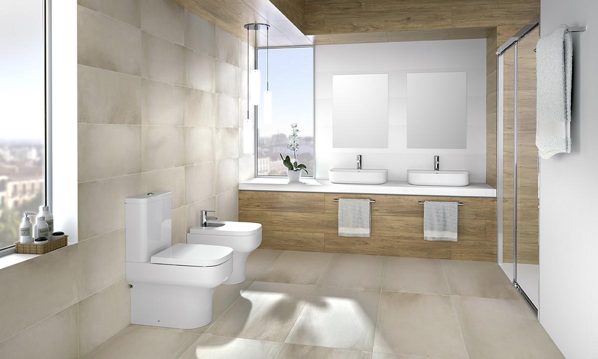Rezervor pe vas WC Gala Mid, alimentare laterala