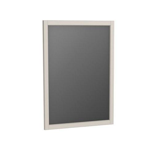 Oglinda cu rama Oristo Montebianco, 60x80 cm, sand mat