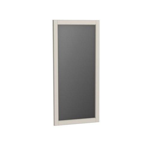 Oglinda cu rama Oristo Montebianco, 40x80 cm, sand mat