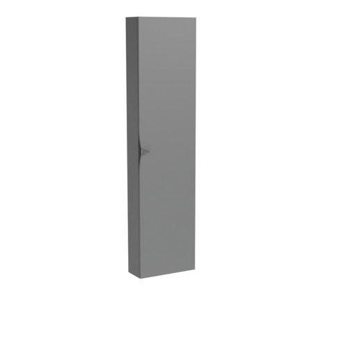 Dulap tip coloana Oristo Siena, 1 usa, gri mat