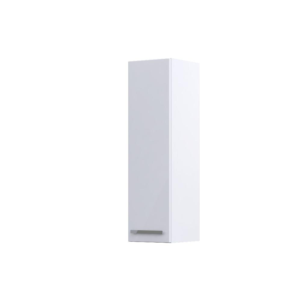 Dulap tip coloana suspendat Oristo Opal, 1 usa , alb lucios