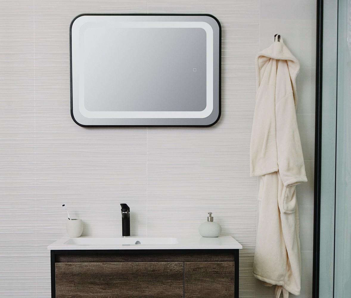Oglinda cu iluminare LED Sanotechnik Soho 60x80cm
