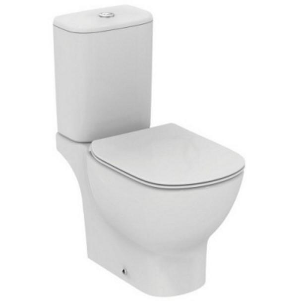 Vas wc stativ Ideal Standard Tesi, Aquablade, pt. rezervor asezat