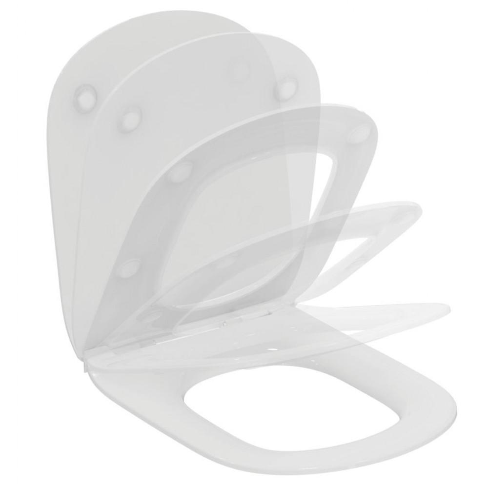 Capac wc Ideal Standard Tesi, subtire, soft-close