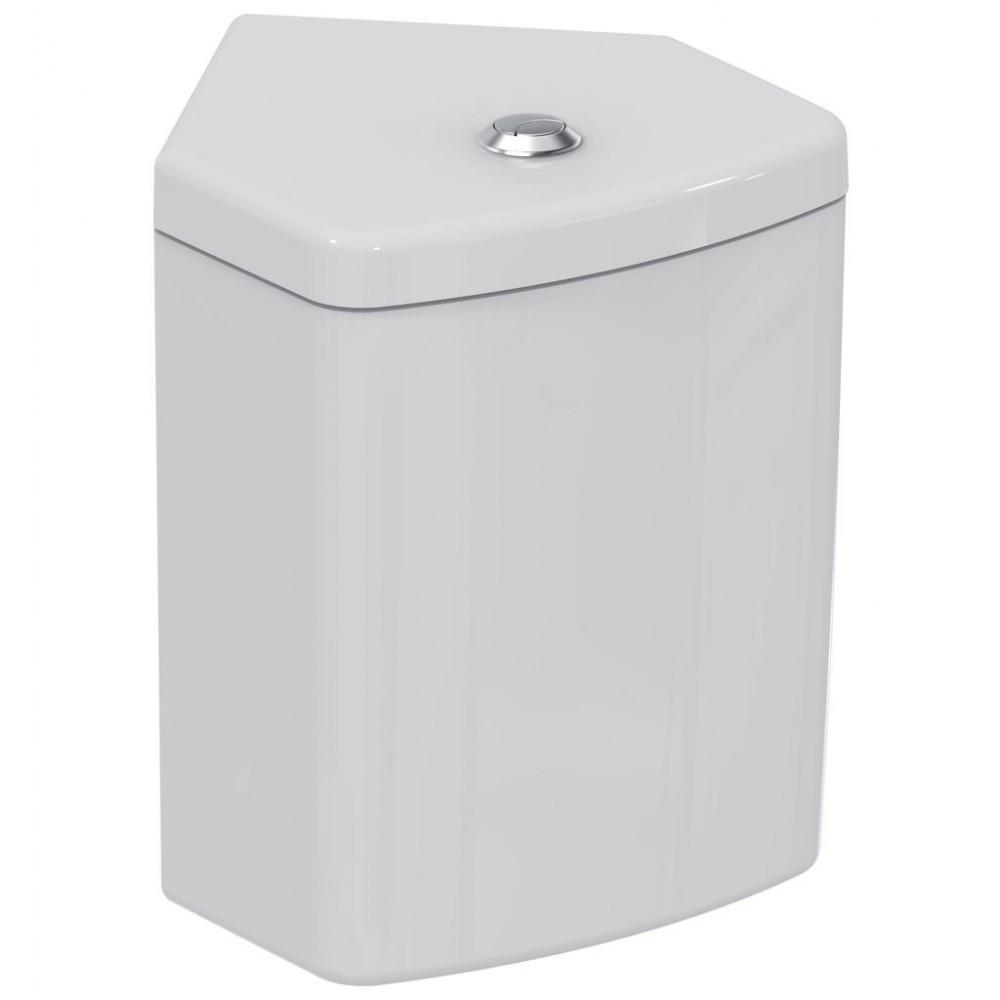 Rezervor wc Ideal Standard Connect Space, montaj pe colt, alim. inferioara
