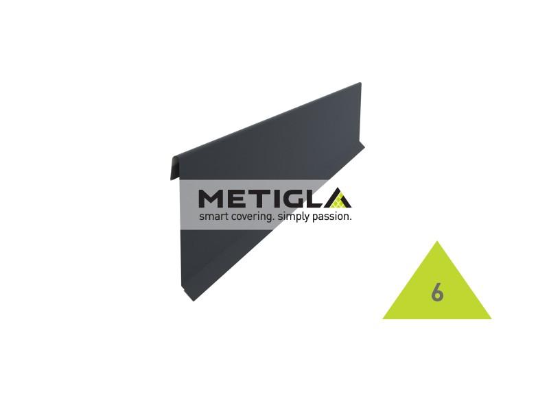 Bordura fronton KPF6 Metigla - tabla prefaltuita