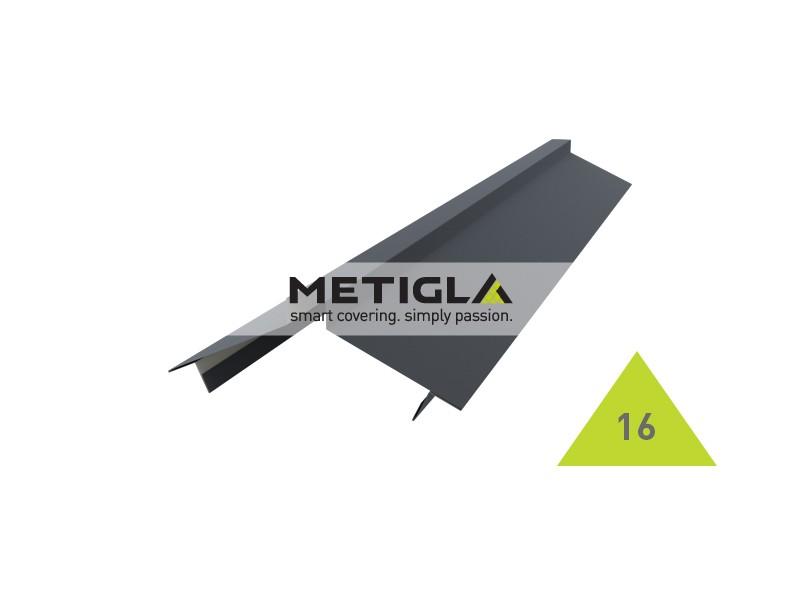 Coama dreapta KPF16 Metigla - tabla prefaltuita