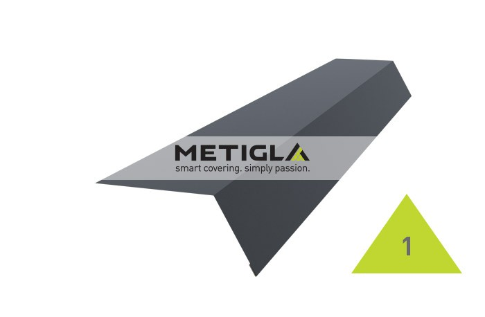 Sort streasina MPF1 Metigla - tigla metalica