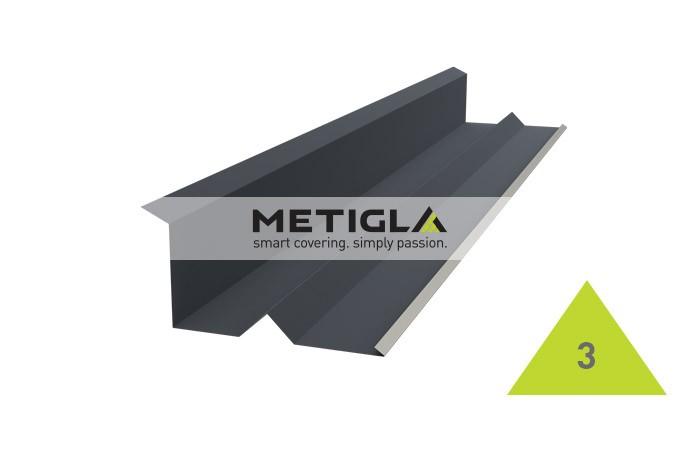 Racord calcan  MPF3 Metigla - tigla metalica