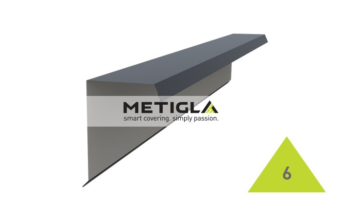 Bordura fronton tip 2  MPF6 Metigla - tigla metalica