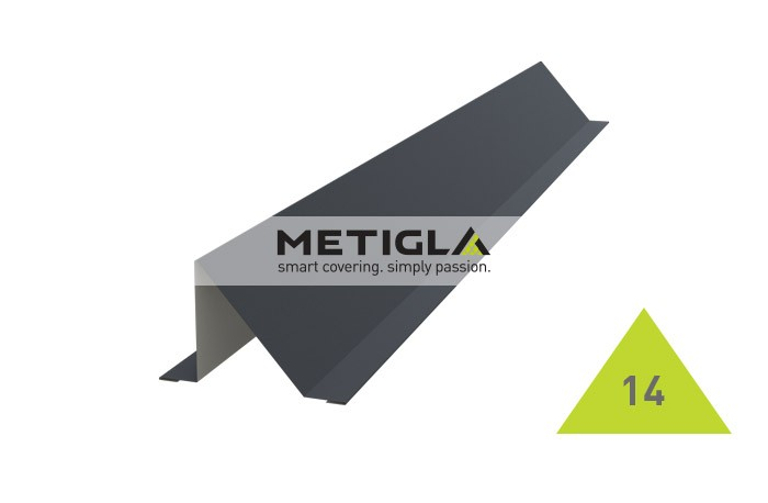 Opritor zapada  MPF14 Metigla - tigla metalica