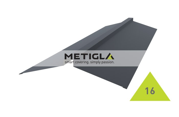 Coama dreapta  MPF16 Metigla - tigla metalica
