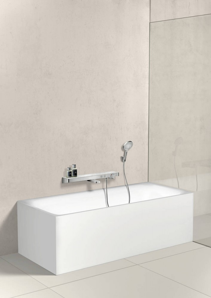 Suport para dus Hansgrohe PORTER S, crom