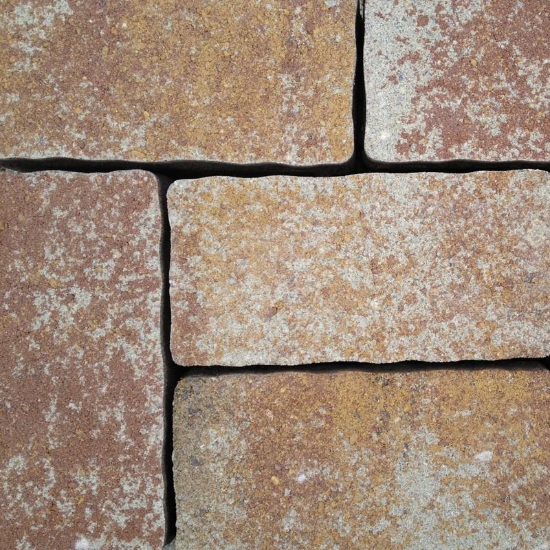Pavaj  rezidential Semmelrock Appia Antica ondulat 20x20x6 cm, calcar cochilifer
