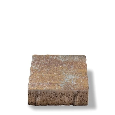 Pavaj  rezidential Semmelrock Appia Antica ondulat 20x20x6 cm, roșu vulcanic