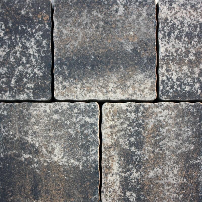 Pavaj  rezidential Semmelrock Appia Antica ondulat 20x20x6 cm, gri vulcanic