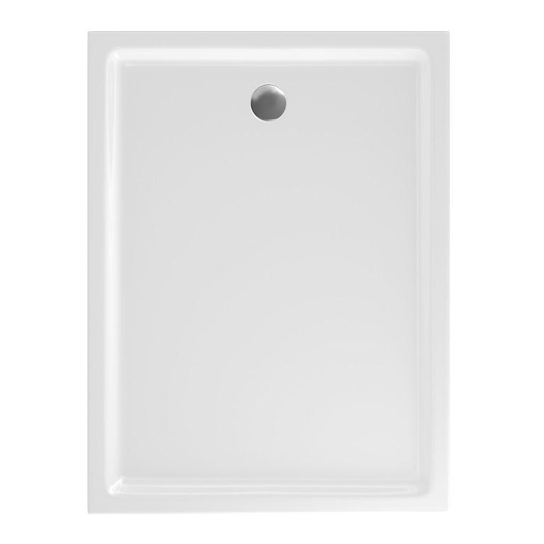 Cadita de dus rectangulara Cersanit Tako 120x90x4 cm