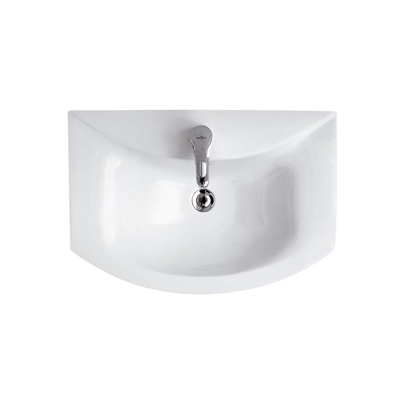 Lavoar ceramic pentru mobilier Cersanit Omega 65 cm