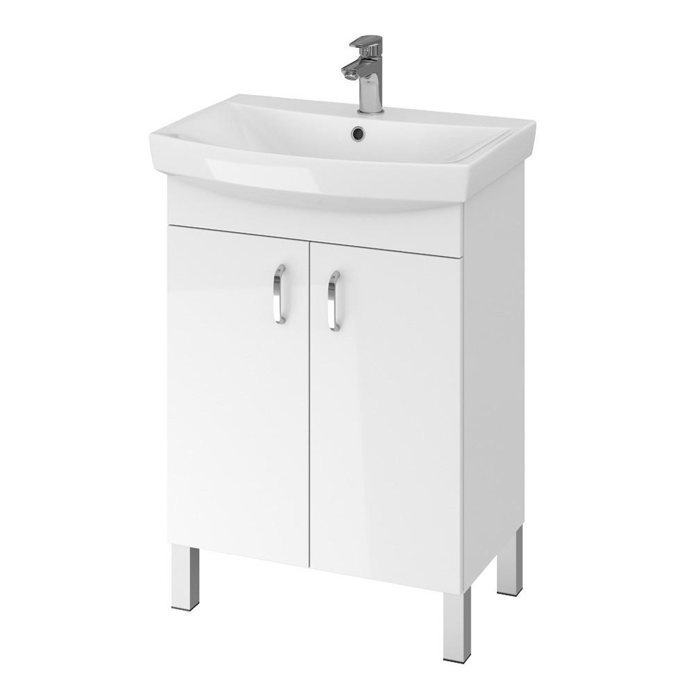 SET mobilier + lavoar Cersanit Claso Carina 60, alb