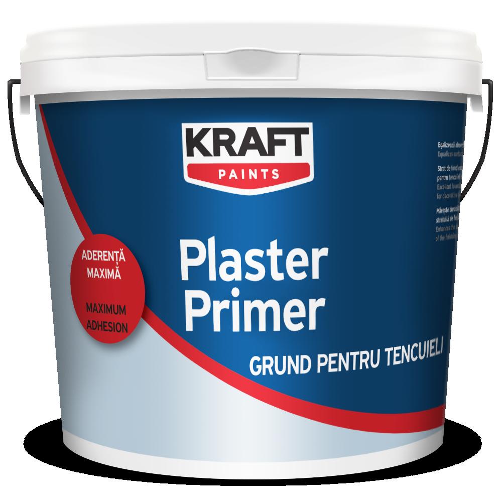 Amorsa tencuiala decorativa Kraft Plaster Primer 4 L