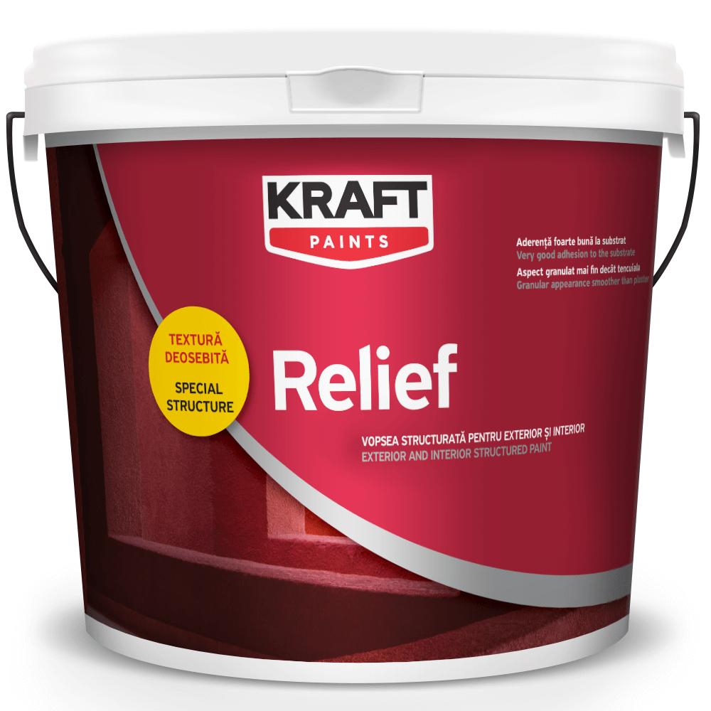 Vopsea decorativa Kraft Relief 25 kg