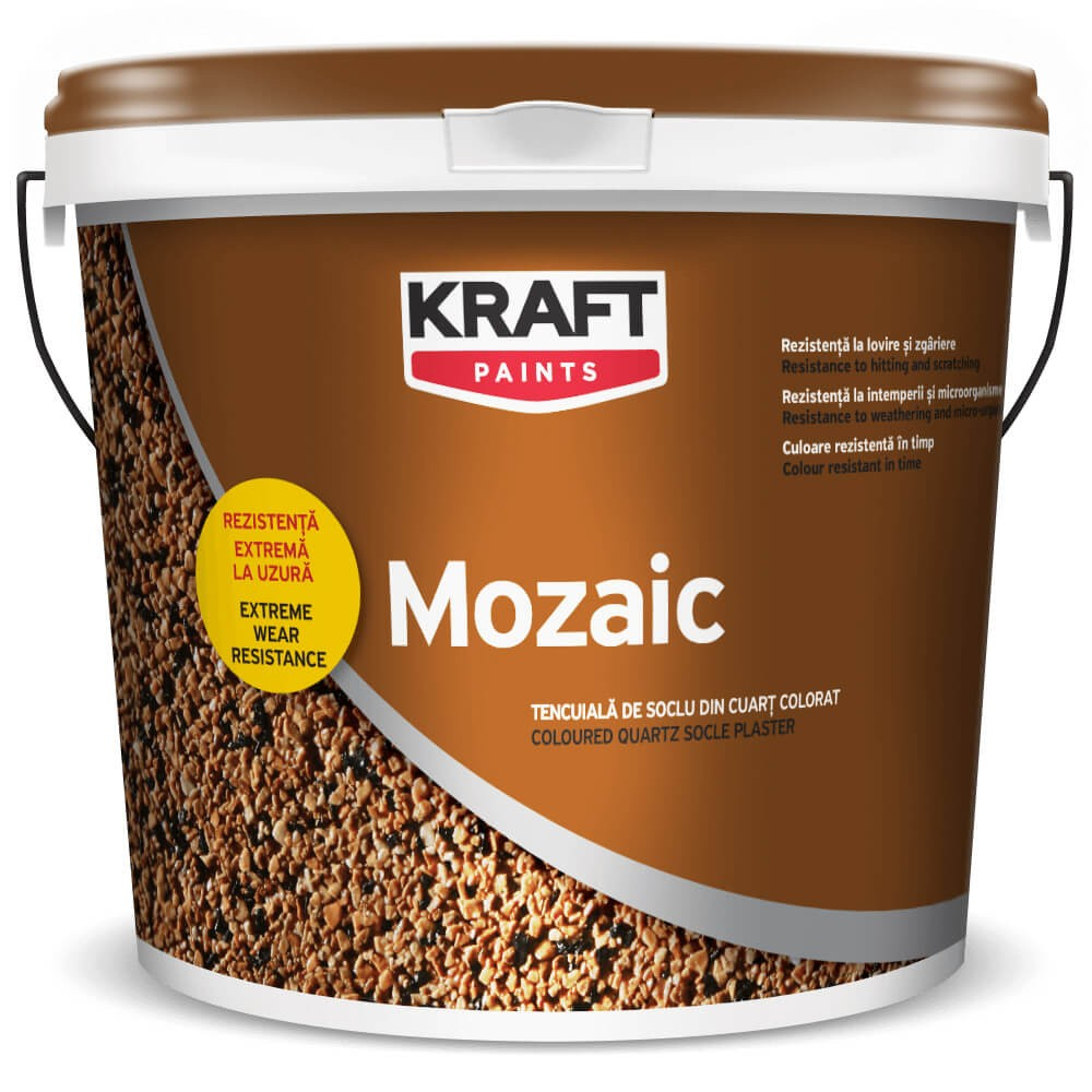 Tencuiala decorativa Kraft Mozaik 25 kg