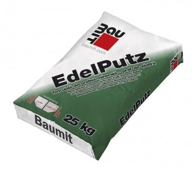 Tencuiala praf de piatra 2 mm Baumit Edelputz 25 kg